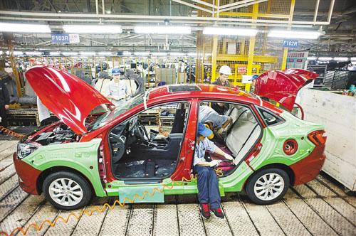 四大推进器助重庆工业高速增长 融入全球工业版图高清图片