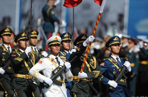莫斯科彩排卫国战争胜利70周年阅兵总举行手视频游图片