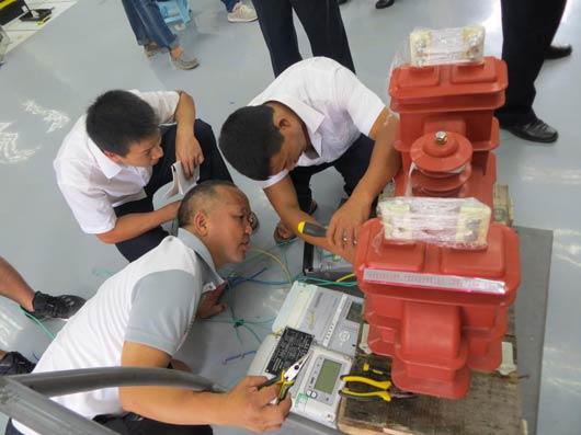 电能计量联合接线盒内部结构图