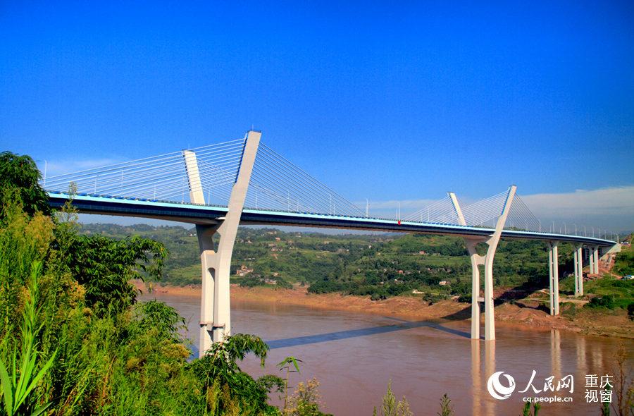 开工时间2006年12月,竣工时间2010年2月.大桥分上下两层,大图片