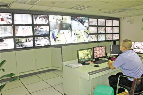 医院视频_涪陵中心医院视频监控室