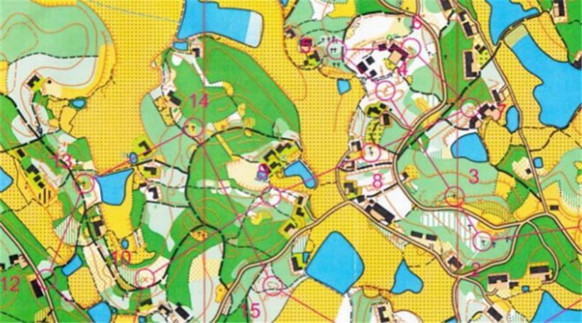 """定向运动:地图和指北针探寻""""宝藏""""的奇妙旅程"""