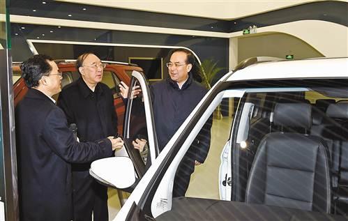孙政才:坚持改革引领 建设国家重要现代制造业基地