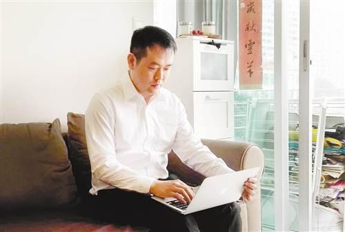 任杰在香港家中.图片