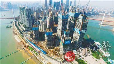 一栋栋拔地而起的高楼正展露出优美身姿,它们就是重庆新地标——重图片