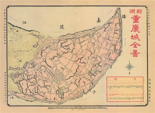 从新版地图看重庆主城变迁图片