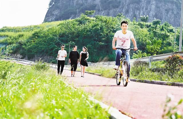 2公里山中自行车道