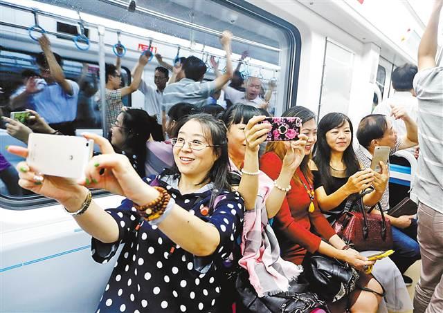 渝轨道将形成八线一环 日均客运量达600万乘次