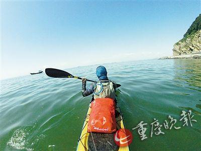 重庆汉子漂流记 要划遍中国1.8万公里海岸线