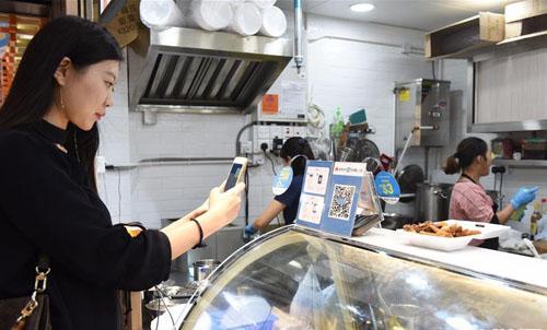 香港打造首个智能化无现金街市