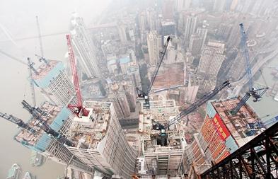 356米 重庆在建第一高楼封顶 刷新重庆天际线图片