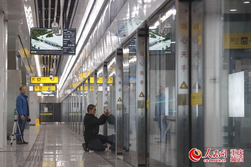 轨道5号线一期北段将试运营 首次启用