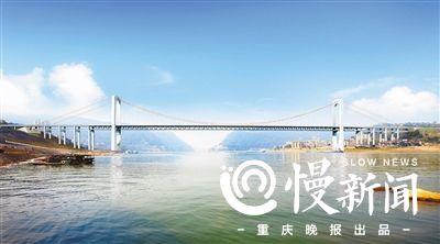 郭家沱长江大桥春节前开工图片