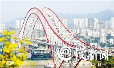 朝天门大桥下层连接道已完成前期工作-郭家沱长江大桥春节前开工图片