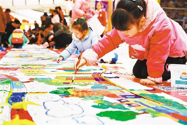 重庆:童心绘家乡图说新变化