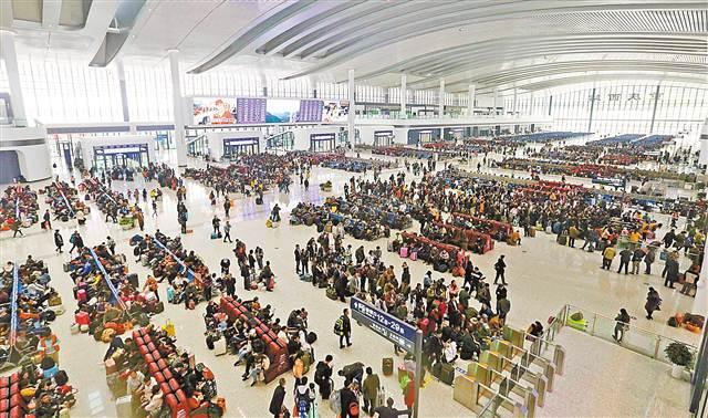 2018春运结束 重庆发送旅客5026万人次增1.76%