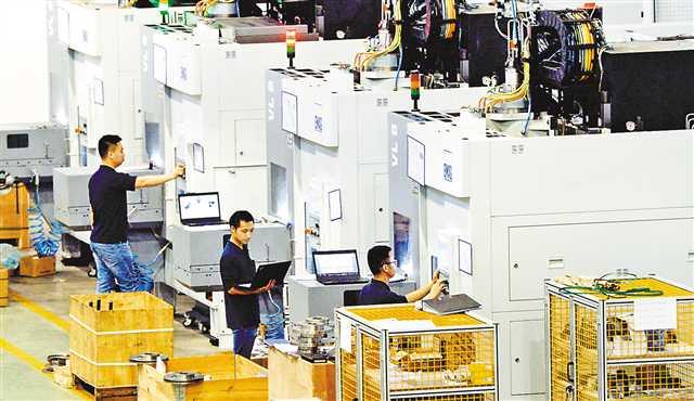 永川发展智能制造装备产业集群