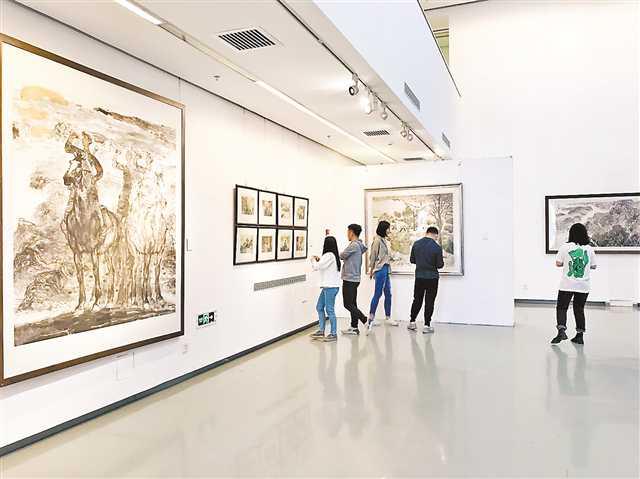 广集众长在 灵苗各自探—2018重庆中国画展侧记
