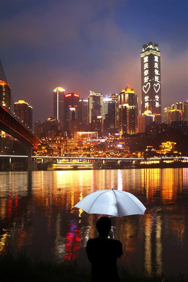 重庆江北风景照
