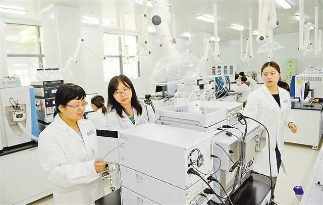 两江新区建设生物医药产业基地