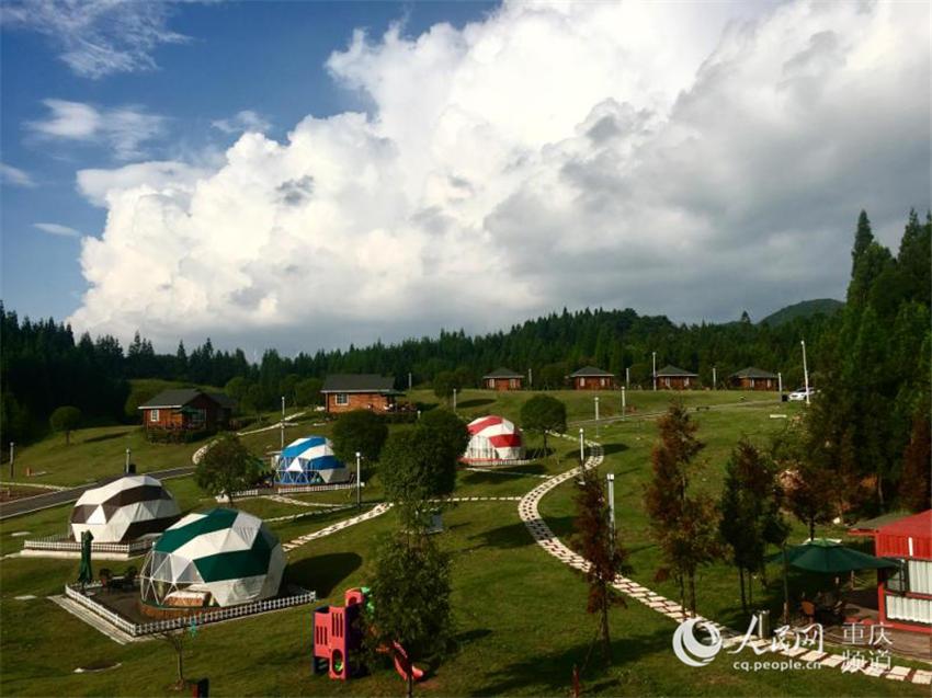 重庆高速旅游融合发展 服务区打造自驾露营基地