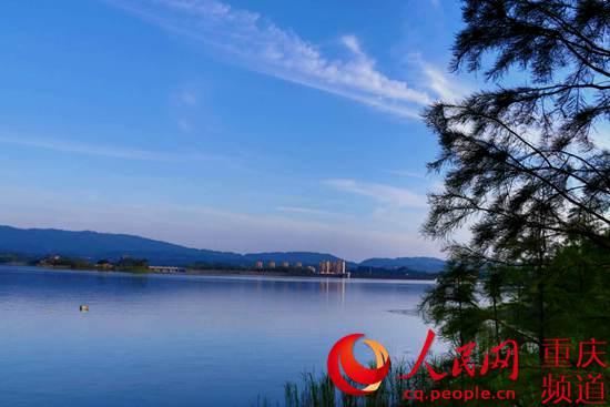 """【美丽中国长江行】长寿湖""""绿色发展""""越来越美"""