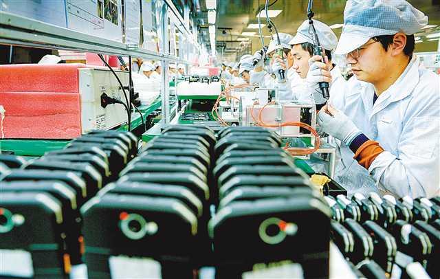 两路寸滩保税港区生产智能终端产品超1亿台