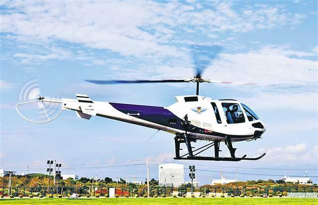 重庆造警用直升机受欢迎