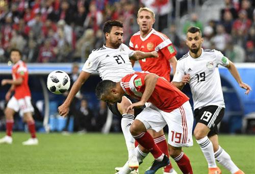 俄罗斯3:1力克埃及出线在望