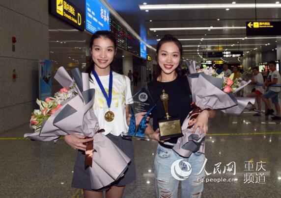 重庆杂技团90后双姝摘得国际魔术大奖