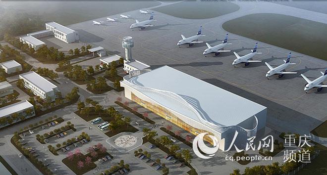 武隆机场最快明年建成 打造空中旅游黄金环线