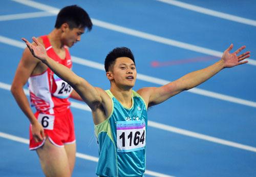 短跑名将谢震业因伤退出雅加达亚运会