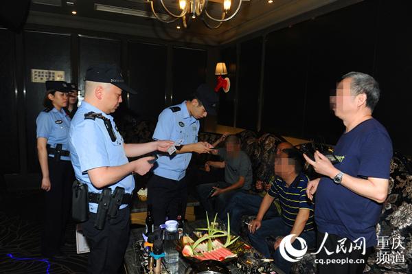 重庆警方组织开展集中清查行动 830余人被抓
