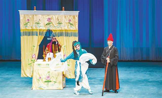 首届今世中央戏曲名家收徒传艺工程结果报告请示上演在重庆举行