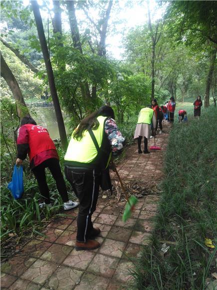 渝北:龙山街道开展环保志愿服务活动