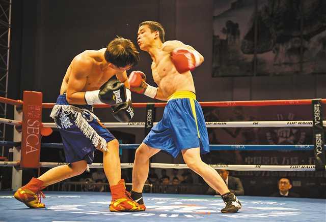 拳力常规赛第四季万盛开战