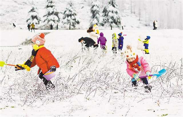 重庆高海拔地区迎来降雪