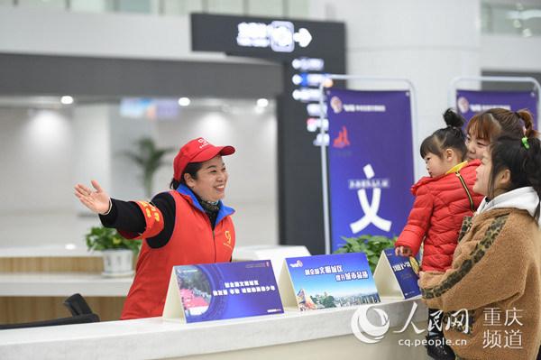重庆西站春运发送旅客逾400万人次