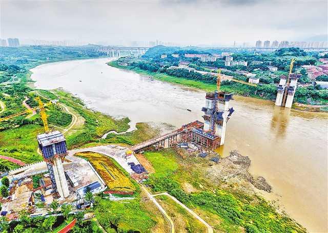 礼嘉嘉陵江大桥明年合龙