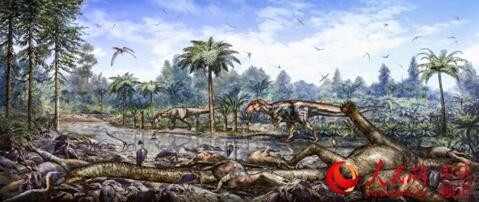 """重庆发现18公里""""埋在地下的恐龙化石长城"""""""