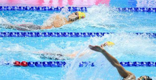 男子4x100米混合泳接力:中国队获第七名