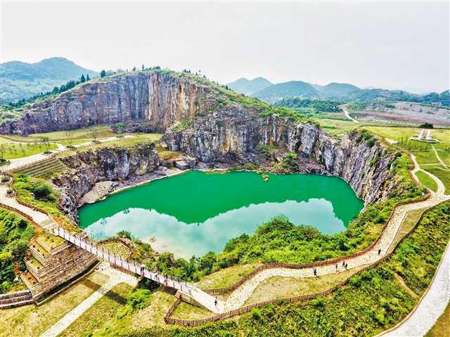 主城350余公顷废弃矿山变身果园和公园