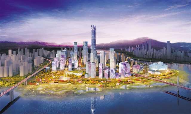 江北集中�_工一大批�目提升城市品�|