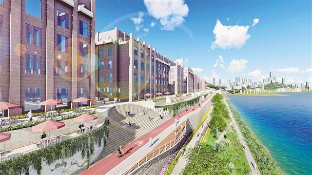 九龙外滩公园项目2020年春节前动工