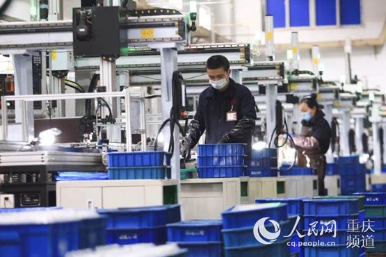 蔡家智慧新城:多举措助力企业复工复产