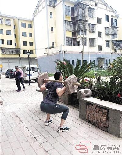 重庆普通人多爱健身看看他们就知道了