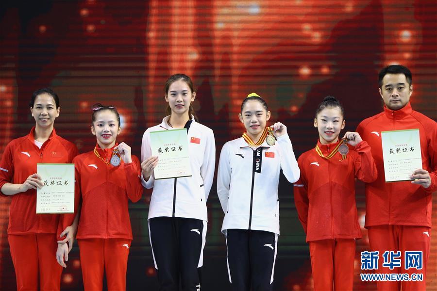 全国锦标赛:刘婷婷夺得女子个人全能冠军