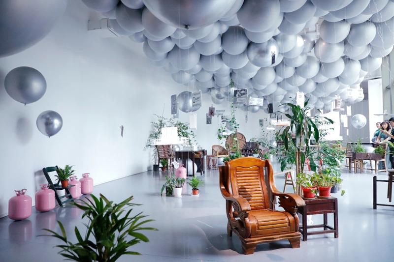 """展览""""向下生活里的X种空间方案""""在悦来美术馆开幕"""